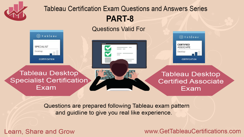Tableau Certification Exam Questions and Dumps
