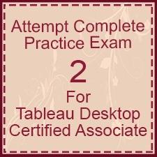 Tableau-Desktop-Certified-Associate-Exam-2