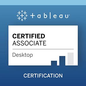 Tableau Certified Associate Exam