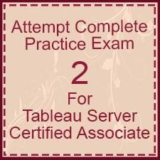 Tableau-Server-Certified-Associate-Exam-2