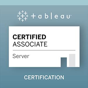 Tableau Server Certified Associate Exam