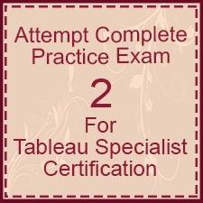 Tableau-Specialist-Certification-Exam-2
