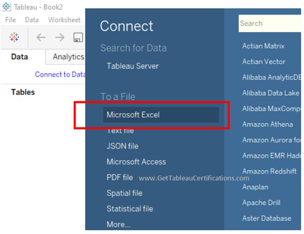 tableau certification exam questions