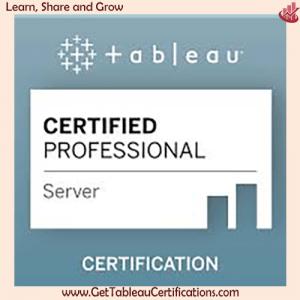 Tableau Server Certified Exam